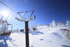 De looppas van de ski Royalty-vrije Stock Foto's