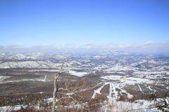 De looppas van de ski Royalty-vrije Stock Afbeeldingen