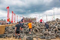De Looppas van Strongman van vissersvrienden, Nurburgring, Duitsland Royalty-vrije Stock Foto's