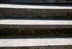De loopvlakken van de steentrede stock foto's