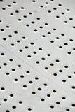 De loopvlakken van het metaal stock afbeelding
