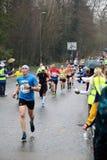De lopende gezonde levensstijl van de marathongeschiktheid Royalty-vrije Stock Foto