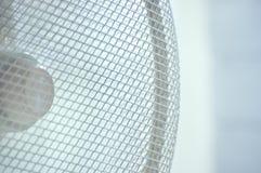 De lopende Ventilator Coseup van de As in Blauw royalty-vrije stock afbeeldingen
