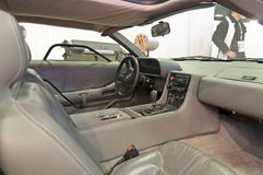 De Lorean DMC-12 interior Stock Image