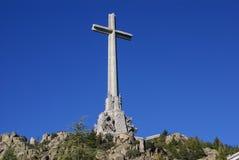 下落的(瓦尔de los Caidos)马德里,西班牙的谷 库存图片