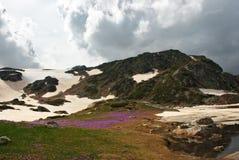 1 de los 7 lagos Rila Imagen de archivo libre de regalías