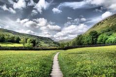 ~ de los prados de Muker los valles Fotografía de archivo libre de regalías