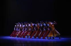 De los remeros- acto en segundo lugar de los eventos del drama-Shawan de la danza del pasado Fotos de archivo libres de regalías
