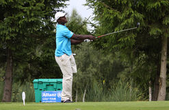 DE los Santos bij het golf Prevens Trpohee 2009 Stock Afbeelding