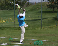 De Los Santos at the Golf Open de Paris 2009 Royalty Free Stock Images