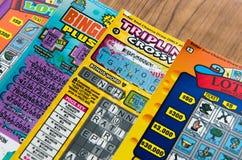 De loterijspel van Californië Stock Afbeeldingen