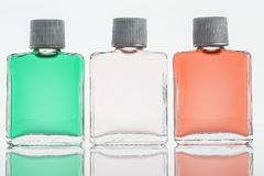 De lotionglas van flessenfragance royalty-vrije stock foto