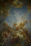 De Louvre Museum Stockbilder