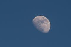 3/4 de lua Imagens de Stock