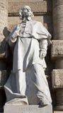 De Luca statue from Rome - Palazzo di Giustizia Stock Photography