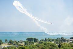 De Lucht en het Water van Chicago tonen Royalty-vrije Stock Afbeeldingen