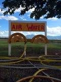 De Lucht & het Water van weleer Stock Foto's