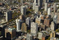De lucht Mening van de Stad Stock Foto