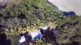 De lucht privé Sleutels van eilandflorida 4k stock videobeelden