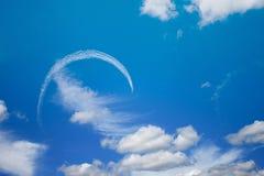 De lucht toont Royalty-vrije Stock Fotografie