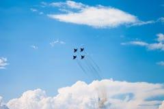 De lucht toont mig-29 Royalty-vrije Stock Afbeelding
