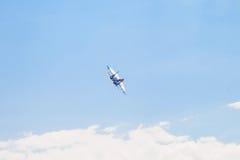 De lucht toont su-34 Stock Afbeelding