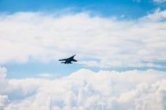 De lucht toont su-34 Royalty-vrije Stock Fotografie