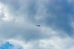 De lucht toont swifts Stock Afbeelding