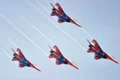 De lucht toont team Royalty-vrije Stock Foto