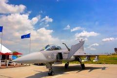 De lucht toont vergadering RoIAS in Mihail Kogalniceanu Royalty-vrije Stock Foto's