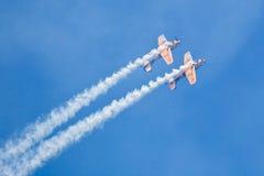 De Lucht van Boekarest toont 2010 stock afbeelding