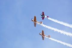 De Lucht van Boekarest toont 2010 royalty-vrije stock afbeeldingen