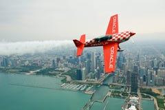 De Lucht van Chicago toont Stock Fotografie