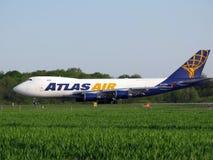 De Lucht van de atlas Stock Fotografie