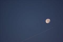 De lucht van de maan Royalty-vrije Stock Fotografie