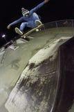 De Lucht van de tik van de Schop van Frontside Stock Fotografie
