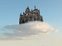 De lucht van het kasteel Royalty-vrije Stock Afbeelding