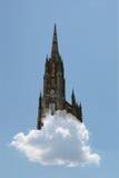De lucht van het kasteel Royalty-vrije Stock Fotografie
