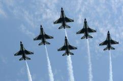 De Lucht van New York toont 2009 Royalty-vrije Stock Afbeelding