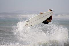 De lucht van Surfer Stock Foto