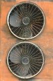 De lucht-voorwaarde van de compressor royalty-vrije stock foto