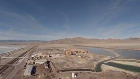 De lucht Zoute Vlakten van Utah stock videobeelden