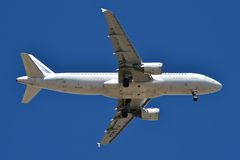 De Luchtbus A320-214 F-GKXH van Frankrijk van de lucht Stock Foto's