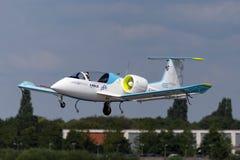 De Luchtbus e-Ventilator is een prototype elektrisch vliegtuig die door Luchtbusgroep worden ontwikkeld royalty-vrije stock afbeeldingen