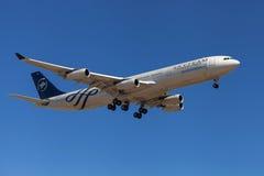 De Luchtbus A340-300 Skyteam van Aerolineasargentinas Stock Foto's