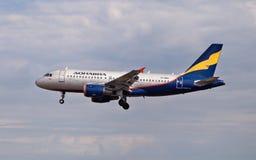De Luchtbus van Aeroflot A319 Stock Afbeelding