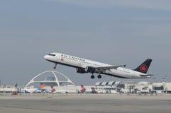De Luchtbus van Canada van de lucht A321 stock foto's