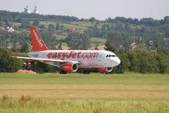 De Luchtbus van Easyjet A319 Royalty-vrije Stock Afbeelding