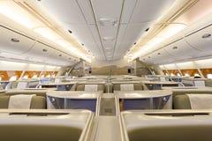 De Luchtbus van emiraten A380 stock foto's