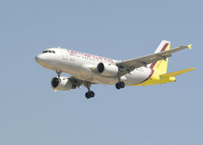 De Luchtbus van Germanwings A319 Stock Foto's